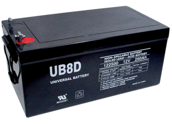 12V 200Ah deep cycle batteries